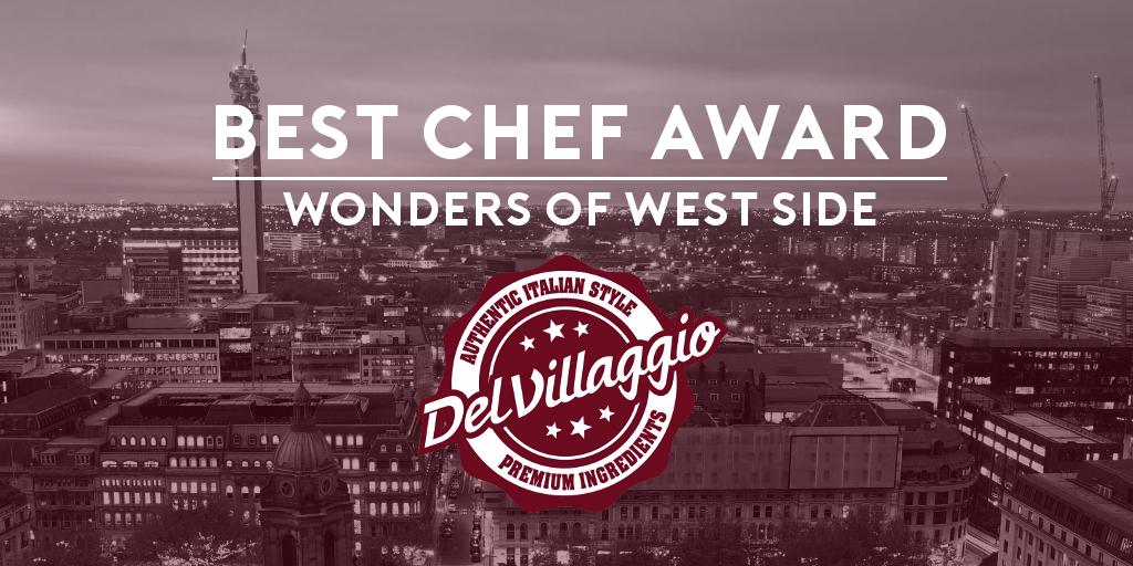 Best Chef 2016 – Del Villaggio Italian Restaurant, Birmingham